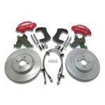 Garage Sale - Stainless Steel Extreme 2 Piston Caliper Brake Kit, 1995-99 Eclipse/Talon