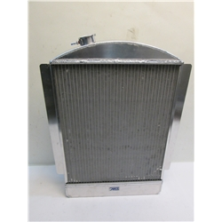 Garage Sale - AFCO 1937 And 1939 Chevy Aluminum Radiator, Chevy Engine, With Trans Cooler