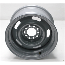 Garage Sale - Speedway GM Style 15 Inch Rally Wheel, 6 on 5-1/2 Inch, Silver Finish, 15 X 8
