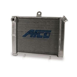 AFCO 80205 Micro/Mini/Midget 17x12 Cage Mount Double Pass Radiator