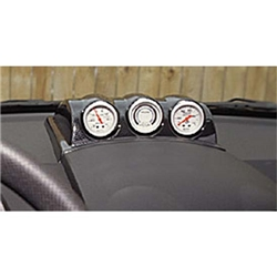Auto Meter 20009 Triple Gauge Dash Top Pod, 1998-04 VW Beetle, 2-1/16