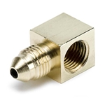 Auto Meter 3270 Pressure Sensor Adapter Fitting, 90 Degree, -3 AN