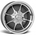 Rocket Racing Wheels Fire Wheel, 16 x 5, 5 on 5, 2.375 Inch Backspace