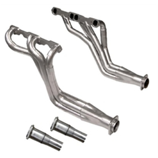 Dynatech® Long Tube Headers, 1-5/8 - 1-3/4, 2-1/2 Reducer, Ceramic Coat