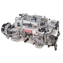 Edelbrock 1803 Dual Quad 4 Barrel Carburetor, 500 CFM, Electric Choke