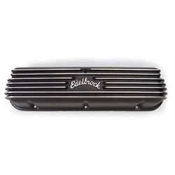Edelbrock 41603 Classic Series Valve Cover Set, Small Block Chevy