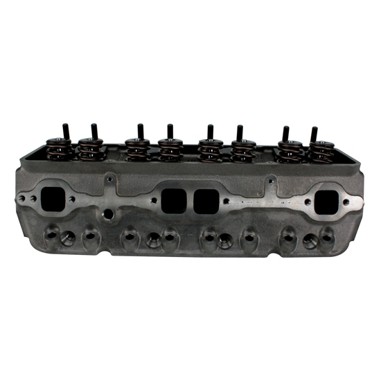 RHS Pro Action Chevy Cast Iron Cylinder Heads-Straight Plug 64cc, Race