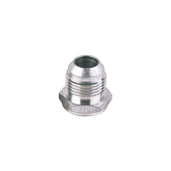 Male aluminum degree an flare weld bung fitting
