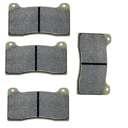 Wilwood 150-8946K NDL/Dynalite Bridge Bolt Brake Pads, BP-10