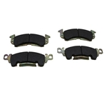 Wilwood 150-8939K BP-10 1969-77 GM Mid-Size Brake Pads