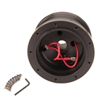 GT Performance 20-6509 GT9 Ford Steering Wheel Adapter Hub, Black Anodized