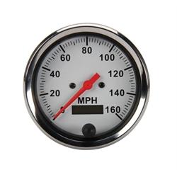 Speedway Electric Speedometer, 3-3/8 Inch Diameter
