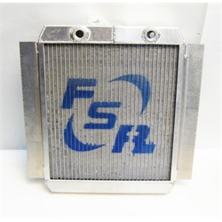 Garage Sale - FSR Aluminum Double Pass Radiator, 13 Inch x 17 Inch