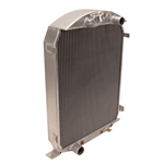 Aluminum Radiator Deluxe for 1930-31 Ford Chassis w/ Small Block Ford