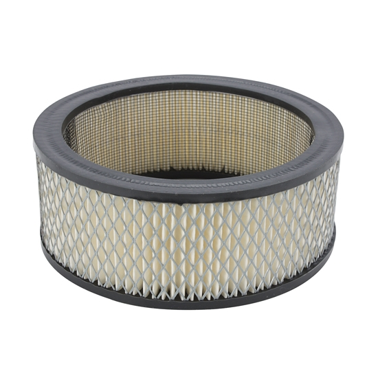Shotgun Scoop Air Filter : Replacement paper filter for shotgun scoop inch