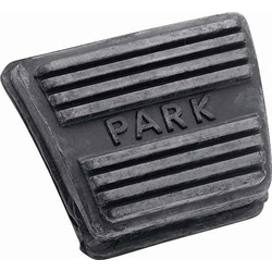 OER 3893181 Parking Brake Pedal Pad, Camaro/Nova/Chevelle