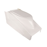 In-Rail Chassis Sprint Racing Fiberglass Hood, No Inlets