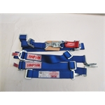 Garage Sale - Simpson 5 Point Quarter Midget Harness, Wrap Around, Blue