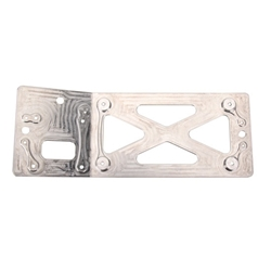 Garage Sale - Eagle Motorsports® MSD Billet Aluminum All-In-One Bent Ignition Plate