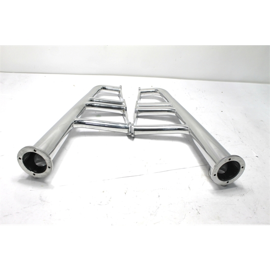 Small Block Chevy Lake Style Headers, AHC Coated