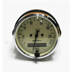 Garage Sale - Auto Meter 1887-M Antique Beige Air-Core Speedometer Gauge