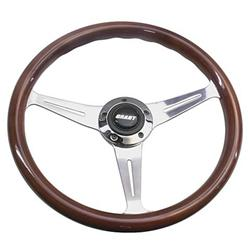 Grant 1170 Collectors Edition 14.75 In 3-Spoke Wood Rim Steering Wheel