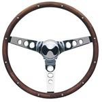 Grant 201 Classic Wood Steering Wheel, 15 Inch