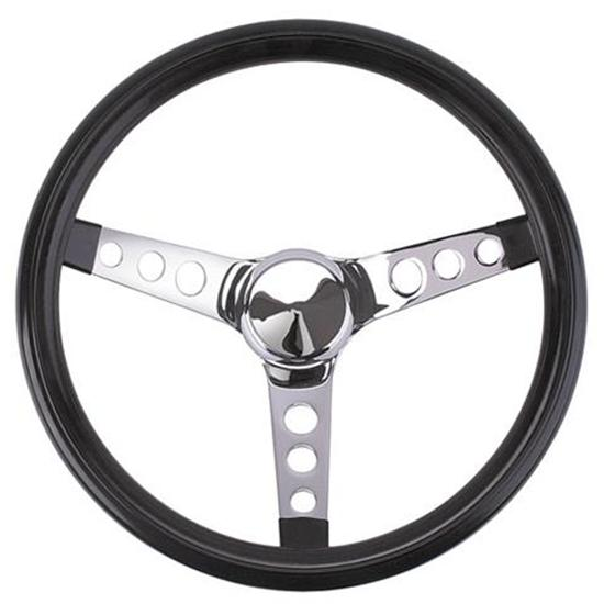 Grant 502 Classic Cruisin 3-Spoke Steering Wheel, 13-1/2 Inch