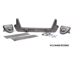 Heidts Mustang II Crossmember for 1955-59 Chevy Pickup Frame, Weld-On Kit