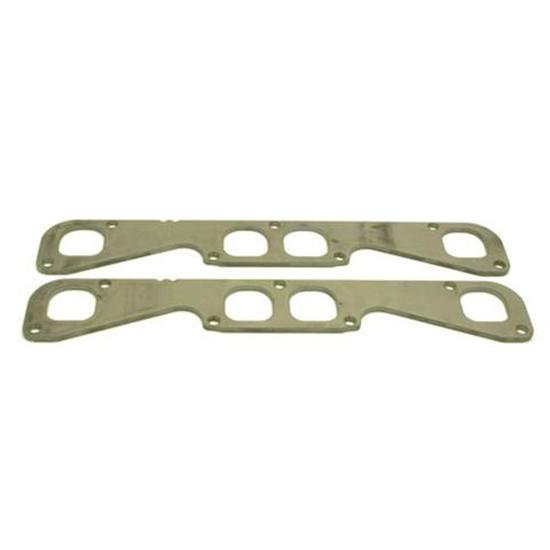 Header Flange Plates, Small Block Chevy Brodix Spread Port