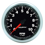 Auto Meter 3897 GS Air-Core In-Dash Tachometer Gauge, 3-3/8 Inch