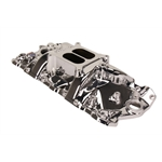 Edelbrock 71014 Performer RPM Endurashine Intake Manifold, S/B Chevy