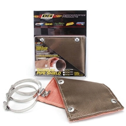DEi 010450 Titanium Exhaust Pipe Heat Shield, 6 Inch x 1 Ft.