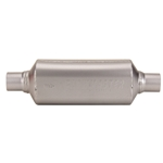 Flowmaster 12018409 HP-2 409 Muffler, 2 In Inlet/Outlet, 18 In Case