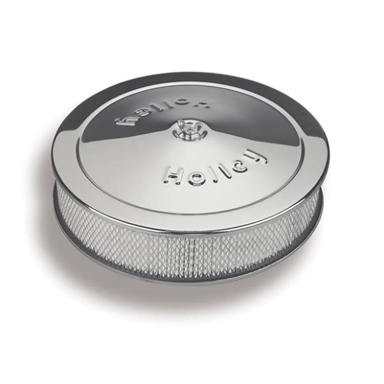Holley Air Cleaner Assembly : Holley air cleaner assembly quot round design w