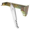 Lokar EHB-9201 Under-Dash Emergency Brake Arm, Chrome