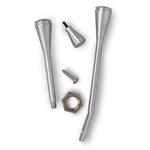 Lokar DUK-2200 Steering Column Dress-Up Kit, Brushed Aluminum