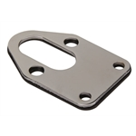 Mr. Gasket 1514 Chrome Fuel Pump Mounting Plate, Small Block Chevy