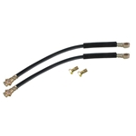 Rubber Brake Line Hose Set for 7/16 Inch-20 Calipers