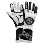 Garage Sale - Sparco Gloves - Tornado - 8 X-Small - Black/White