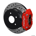 Wilwood 140-8754-DR Dynapro Radial Mount Rear Brake Kit, 04-06 GTO