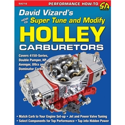 Book - David Vizard's How to Super Tune and Modify Holley Carburetors