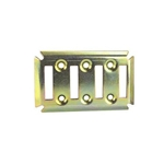 Trailer Cargo Mount Plate, 4-Slot