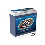 XS Power D680 12 Volt Deep Cycle AGM Battery, 7.28 x 6.67 x 3.19 Inch