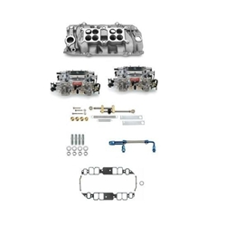 Edelbrock Big Block Chevy Dual Quad Set-Up, Rectangular Port