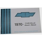 Dave Graham 70CHOM 1970 Chevelle Owners Manual