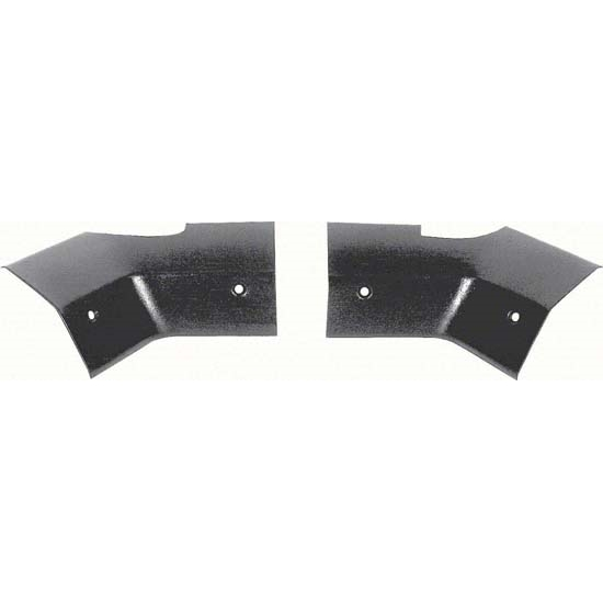 OER K4351 67-69 Package Tray/Headliner Corner Corner Trim, Pair