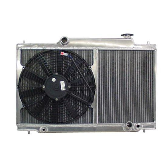 Garage Sale - C&R Racing Radiator, 1992-95 Honda Civic w/Fan