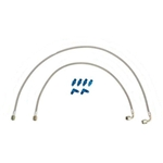 Wing Slider Braided Hose Kit