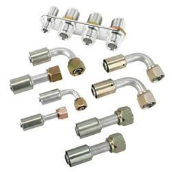 Inline AC Bulkhead Plates with Fittings